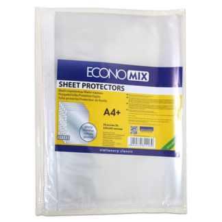 Файл плотный 40 мкм глянцевый А4 (21х29,7 см) Economix