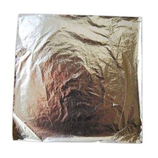 Поталь в картонном буклете серебро 16х16 см 10 листов Rosa