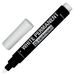 Маркер перманентный Белый 2,5 мм Centropen 8586