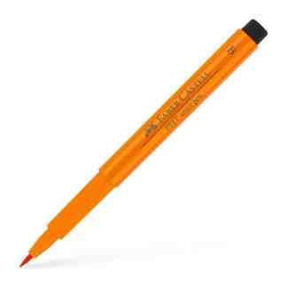 Фломастер Pitt 113 оранжевый Faber-Castell