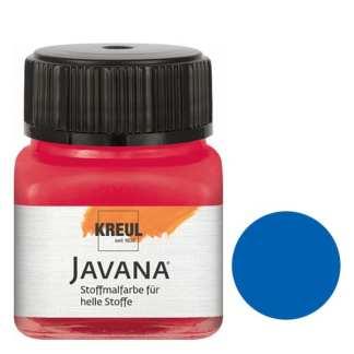 Краска по светлым тканям нерастекающаяся KR-90907 Королевский голубой 20 мл Sunny Javana C.KREUL