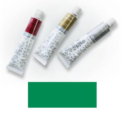 Акриловая краска Nail Art 12 мл 061 изумрудно-зеленая Van Pure