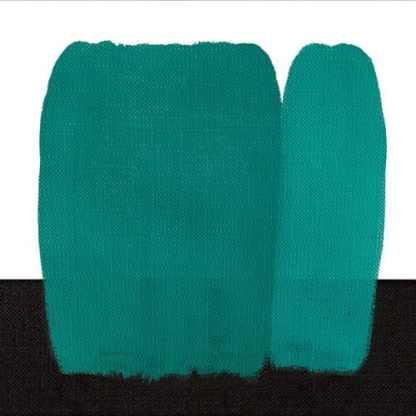 Краска по ткани 411 сине-зеленый покрывной 60 мл Idea Stoffa Maimeri Италия