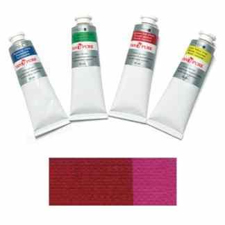 Масляная краска 60 мл 001 малиновая Van Pure