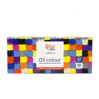 Набор масляных красок 12х20 мл Rosa Studio 131007
