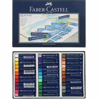 Набор масляной пастели Goldfaber 36 цветов Faber-Castell