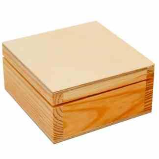 Шкатулка деревянная 15х8х15 см Albero