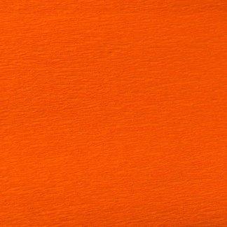 Бумага гофрированная 701517 Оранжевая 55% 26,4 г/м.кв. 50х200 см (Т)