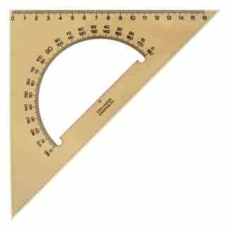 745640 Треугольник 45/117 с транспортиром