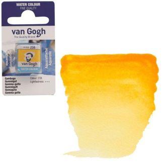 Акварельная краска Van Gogh 238 Гумигут 2,5 мл кювета Royal Talens