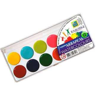 Набор акварельных красок «Классика» 12 цветов Луч