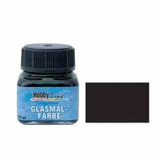 Краска для стекла лаковая прозрачная 45209 Черная 20 мл Hobby Line C.KREUL