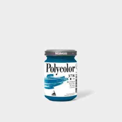 Акриловая краска Polycolor 140 мл 378 голубой ФЦ Maimeri Италия