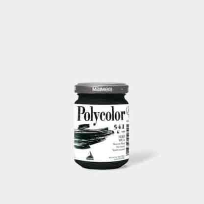 Акриловая краска Polycolor 140 мл 541 черный слюдяной Maimeri Италия