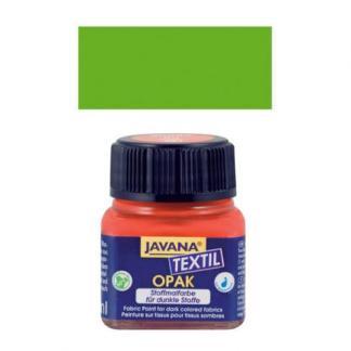 Краска по тканям и коже прочная нерастекающаяся KR-90960 Зеленая листва 20 мл Opak Javana C.KREUL