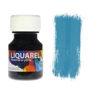 Акварельная краска жидкая Liquarel 122 Бирюзовый 30 мл Renesans Польша