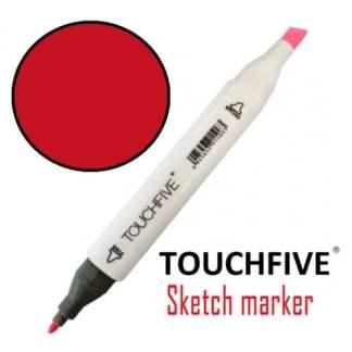 Маркер двусторонний 4 Vivid Red TouchFive