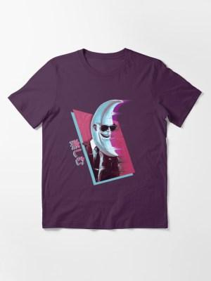 Cool moon character t shirt - Enjoy by Justin Wharton