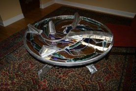 Gold Nebula Table - O. Gabbert
