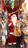 Santa im Schlupfladen