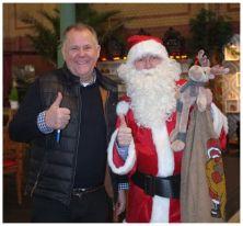 Weihnachtsmann mit Thomas Forcher
