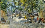 Gennady Lodyzhensky. Eastern Bazaar