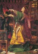 Morgan le Fay by Frederick Augustus Sandys, 1864. Property of Birmingham Museums and Art Gallery.