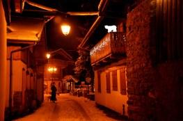 A quiet street in a quiet village