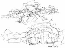 frank drawings eight museums