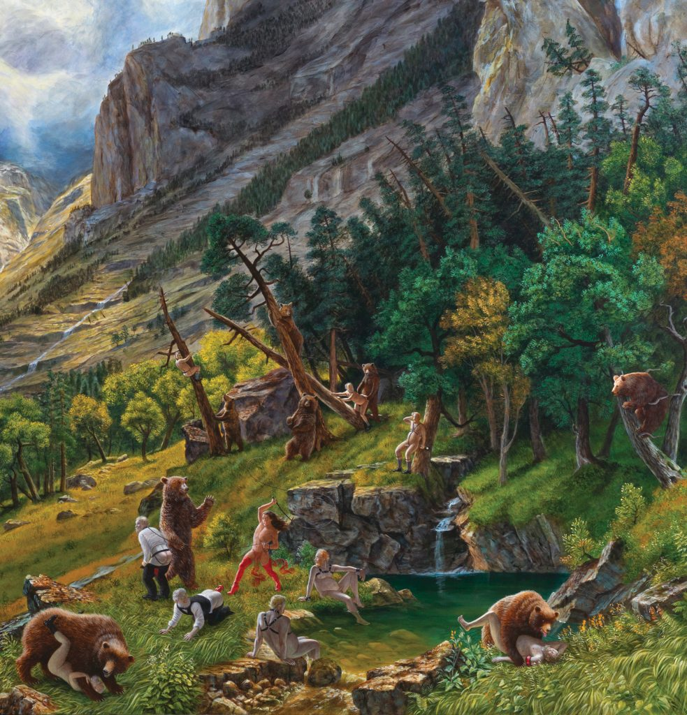 Curatorial Tour Kent Monkman Art Museum At The