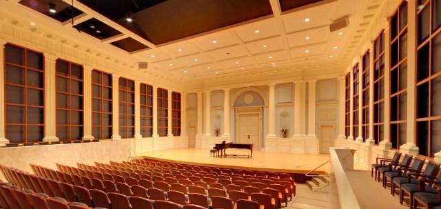 Samford's Brock Recital Hall