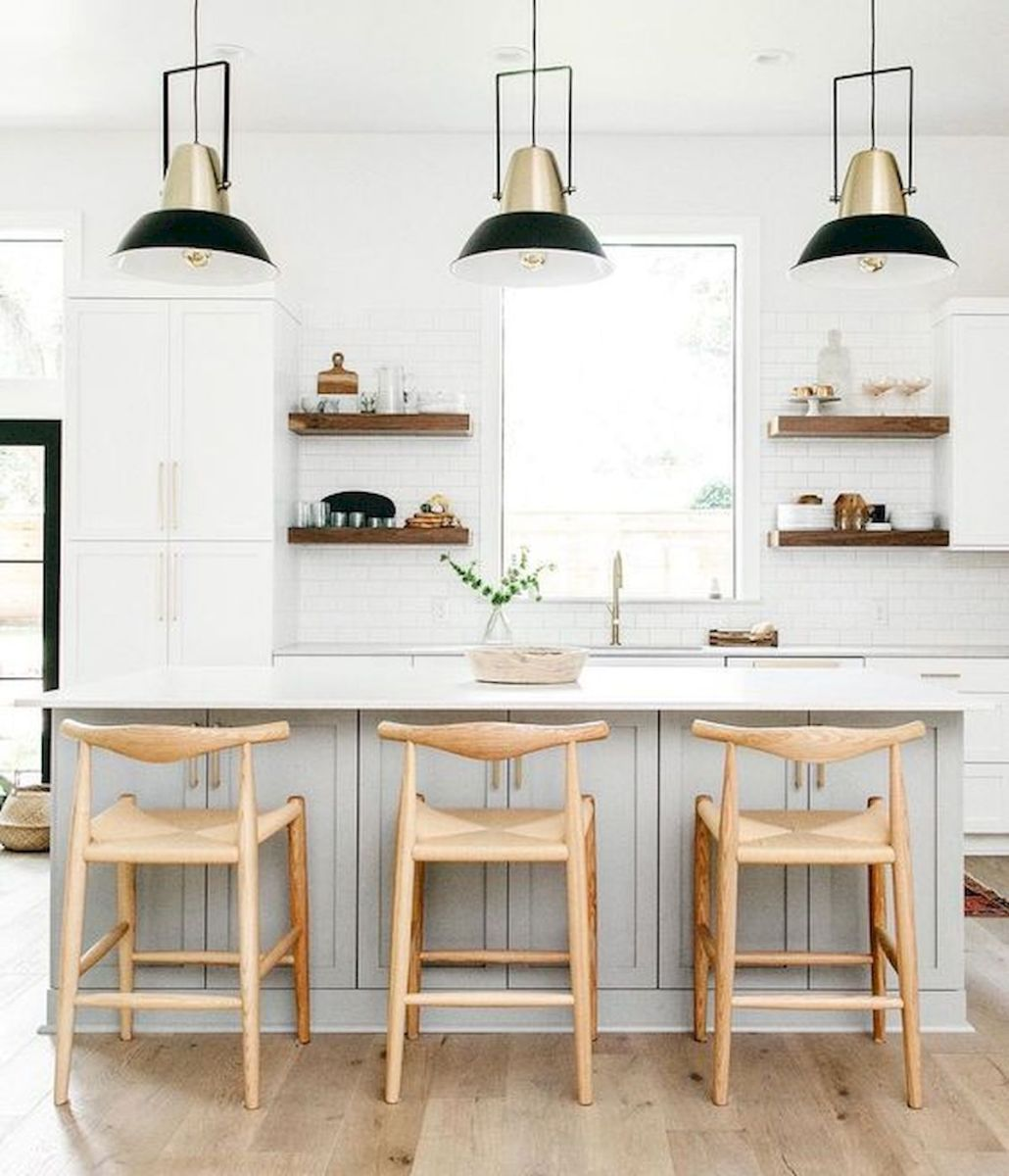 50 Beautiful White Kitchen Design Ideas (102)