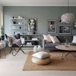 50 Best Living Room Decor Ideas With Artwork Rugs (12)