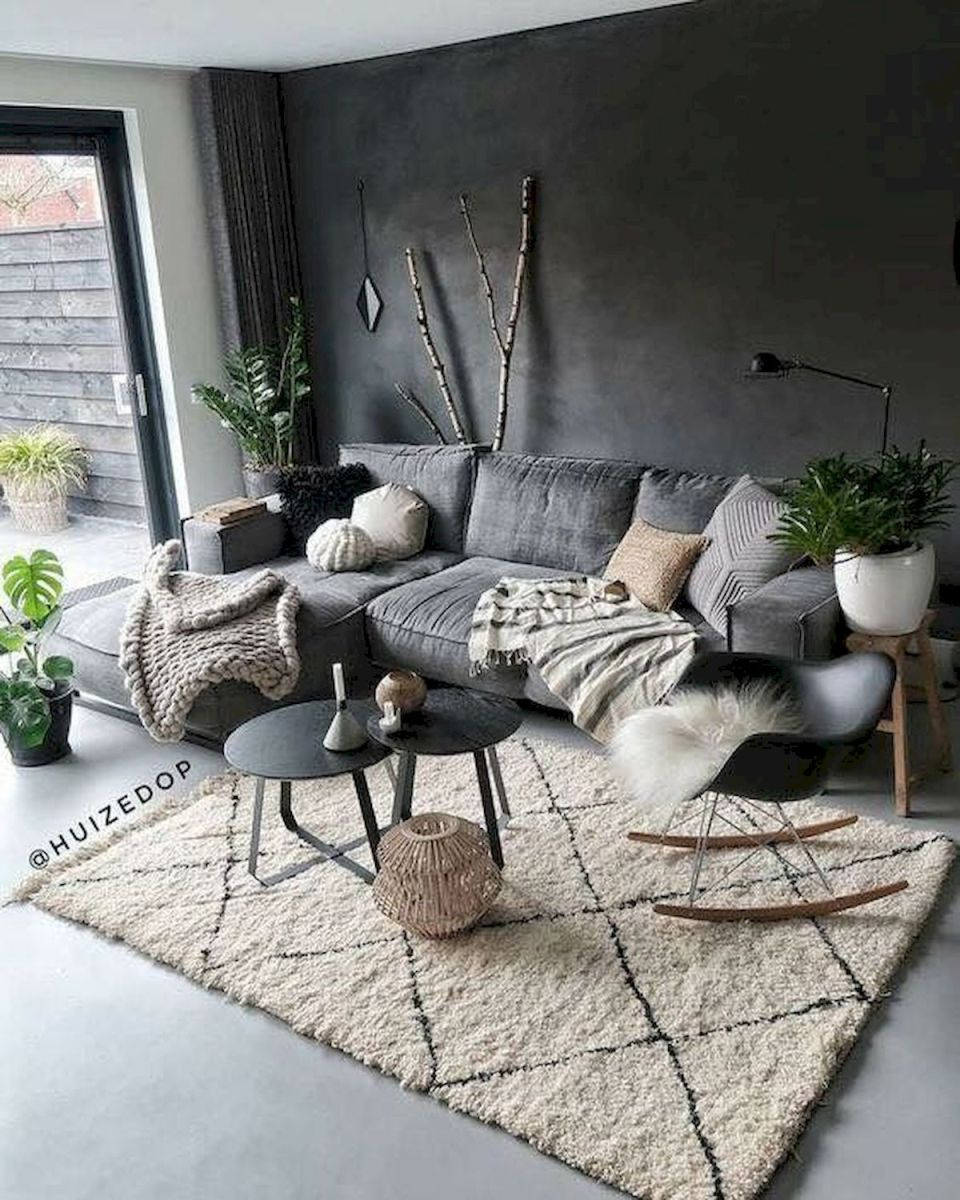 50 Best Living Room Decor Ideas With Artwork Rugs (2)