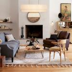 50 Best Living Room Decor Ideas With Artwork Rugs (26)