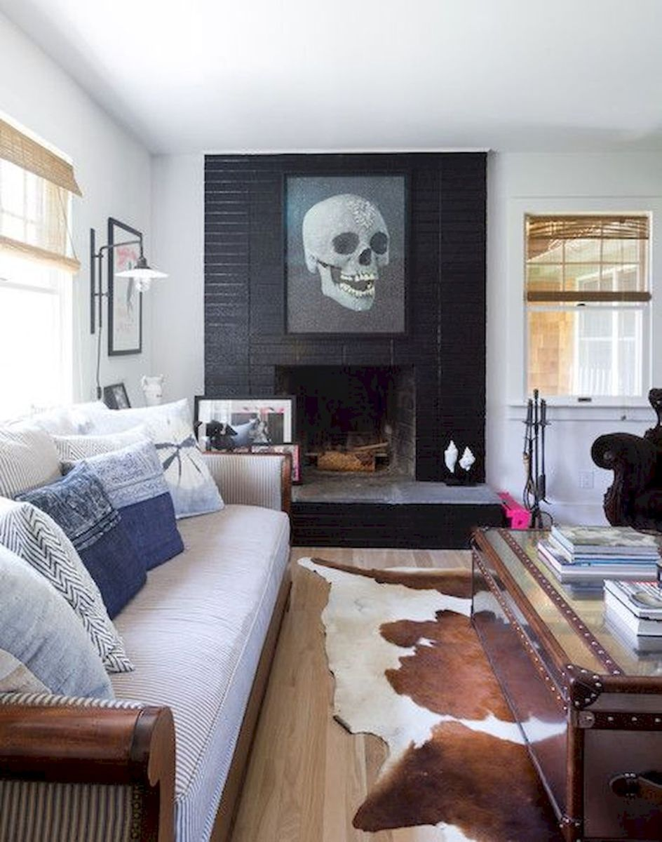 50 Best Living Room Decor Ideas With Artwork Rugs (38)