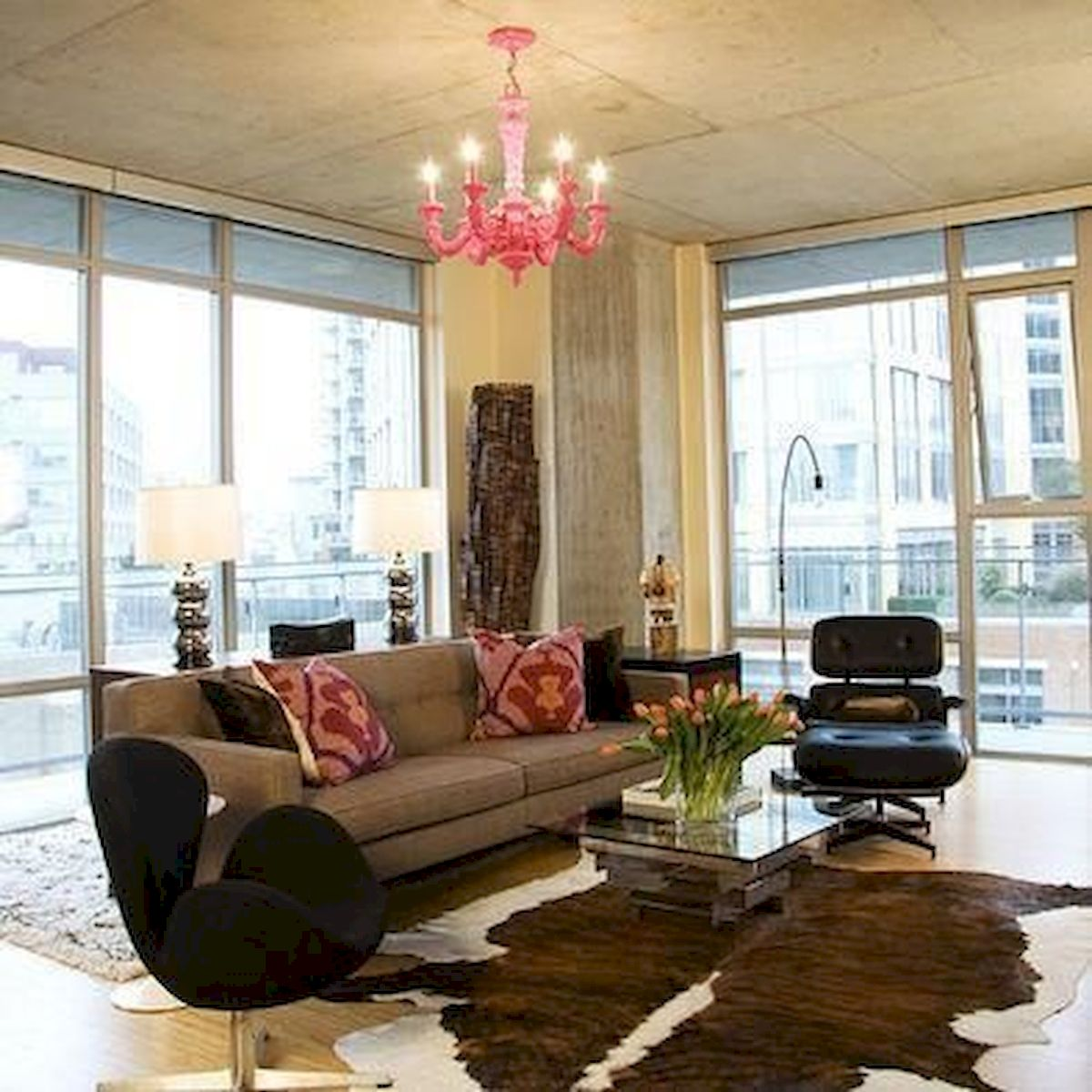 50 Best Living Room Decor Ideas With Artwork Rugs (48)