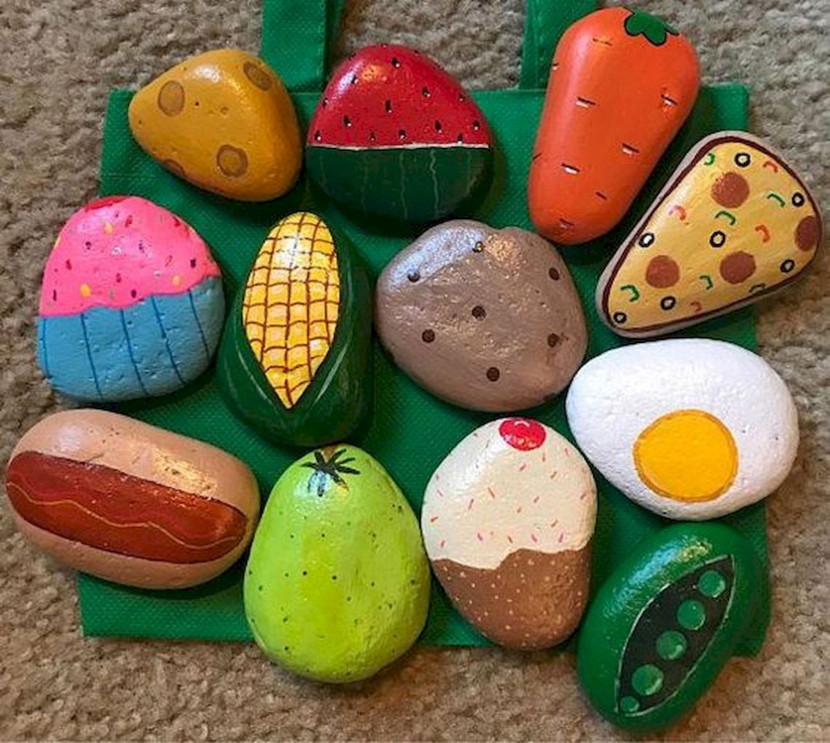 60 Fantastic Rock Painting Ideas For Kids (6)