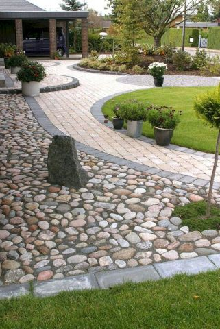 77 Beautiful Side Yard And Backyard Gravel Garden Design Ideas