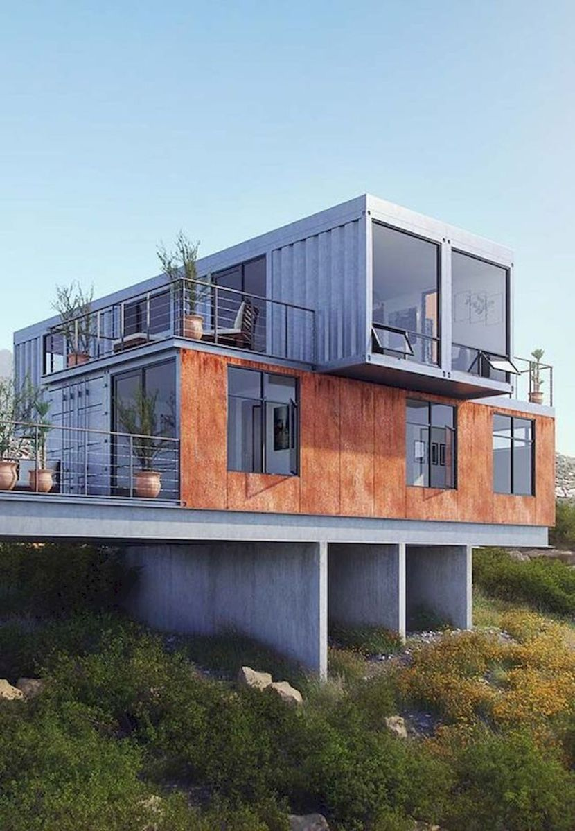 33 Awesome Container House Plans Design Ideas (14