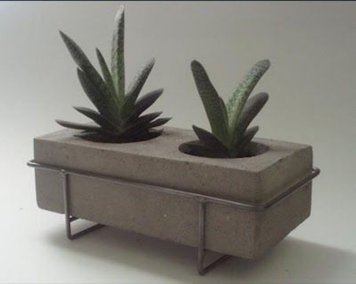 40 Suprising DIY Cement Projects Design Ideas (13)
