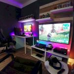 45 Awesome Computer Gaming Room Decor Ideas and Design (13)