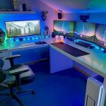 45 Awesome Computer Gaming Room Decor Ideas and Design (19)