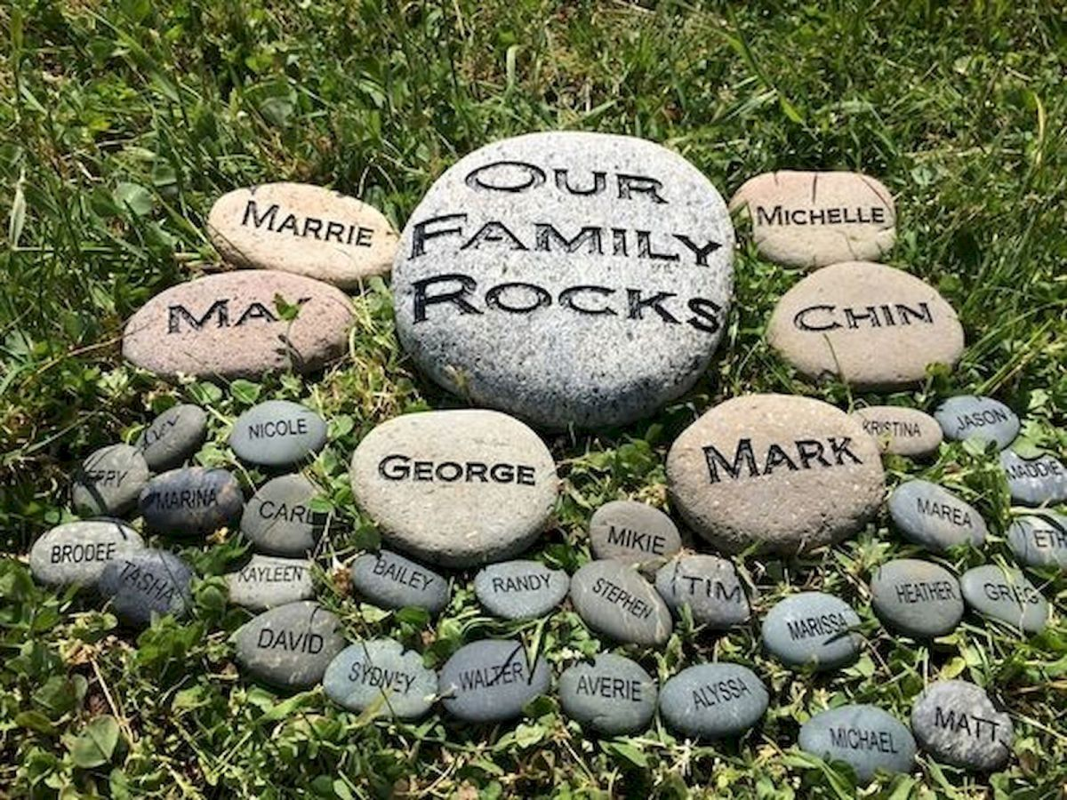 45 Awesome DIY River Rock Ideas Decorations (17)