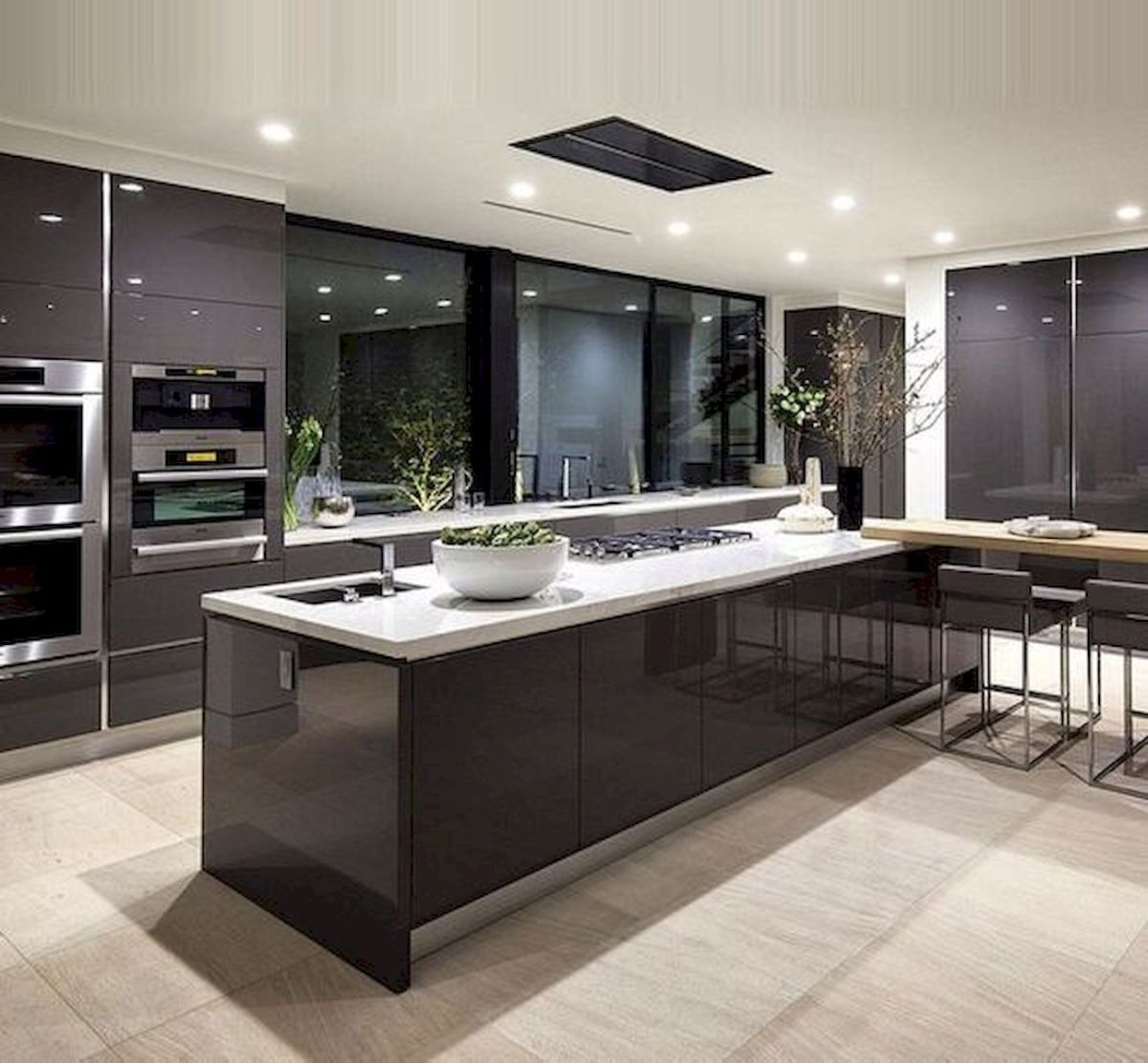 48 Luxury Modern Dream Kitchen Design Ideas And Decor (29)