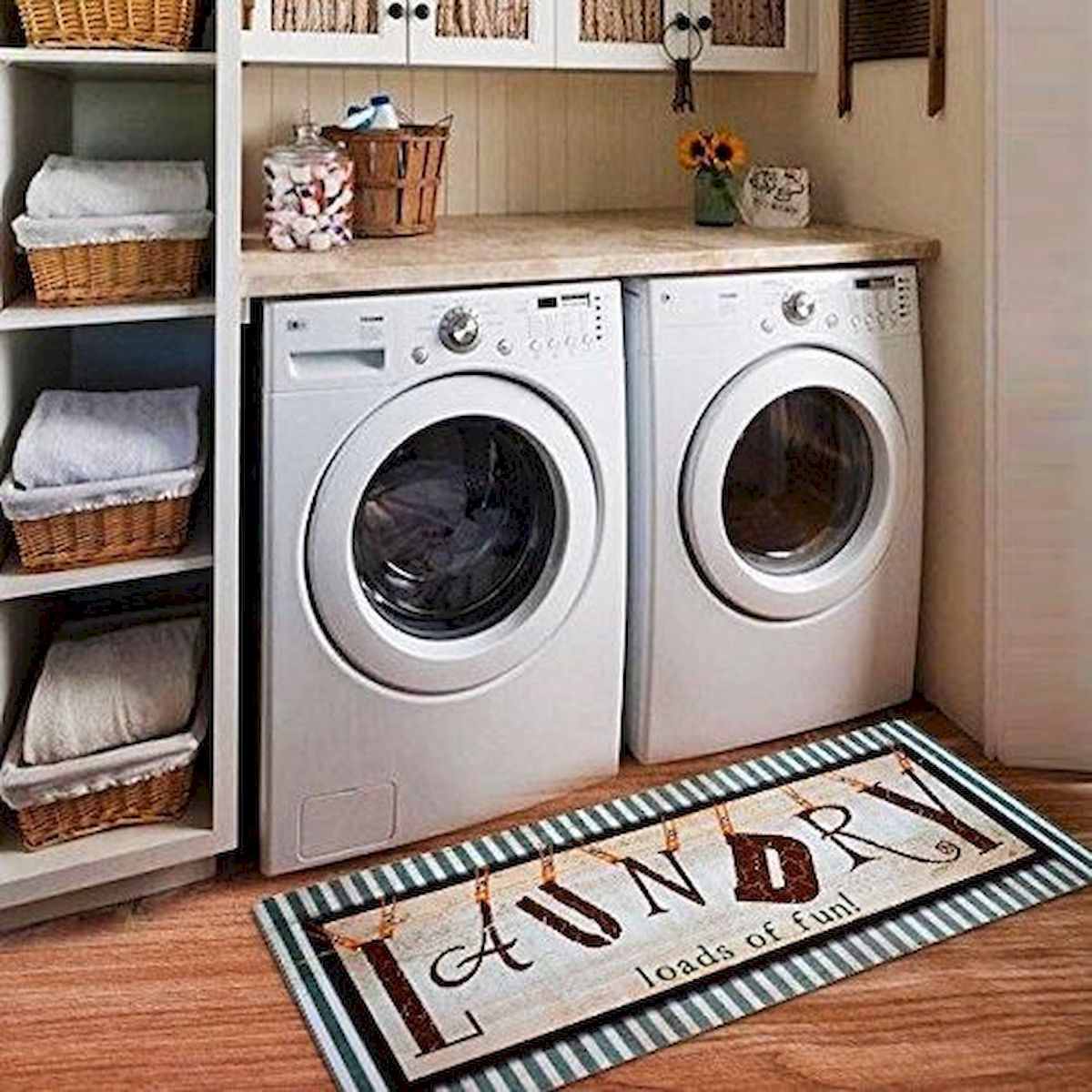 57 Fantastic Laundry Room Design Ideas and Decorations (39)