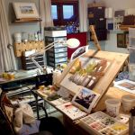 58 Fantastic Art Studio Organization Ideas and Decor (17)