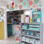 58 Fantastic Art Studio Organization Ideas and Decor (22)