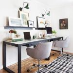 60 Best DIY Office Desk Design Ideas and Decor (21)