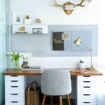 60 Best DIY Office Desk Design Ideas and Decor (44)